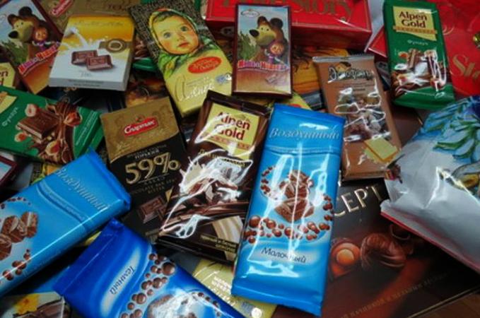 Шоколадная продукция