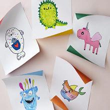 Как хранить детские рисунки правильно