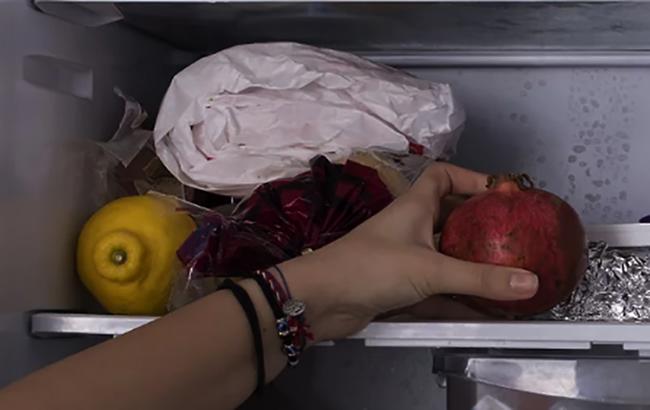 Хранение граната в холодильнике
