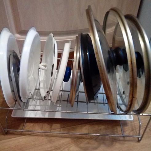 Хранение крышек в сушилке