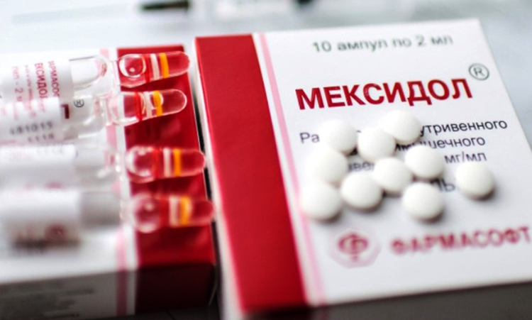 Ампулы и таблетки Мексидола