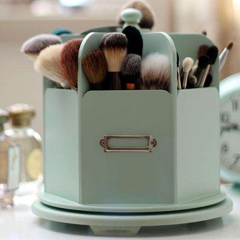 Хранение кистей для макияжа дома