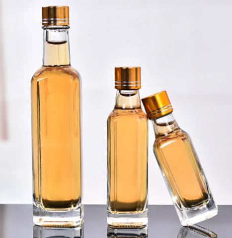 Бутылочки со льняным маслом