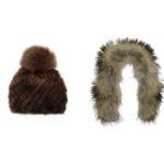 Как правильно хранить меховые шапки и шарфы?