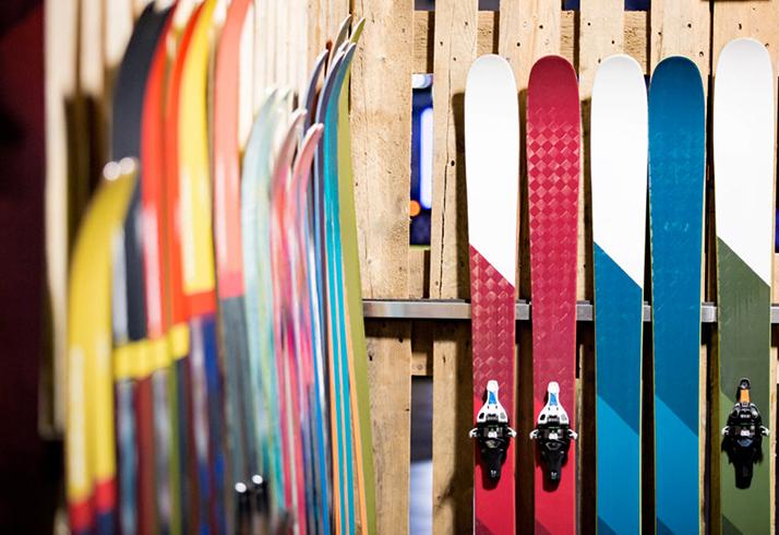 Правильное хранение лыж
