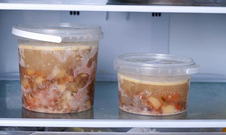 Суп в морозилке