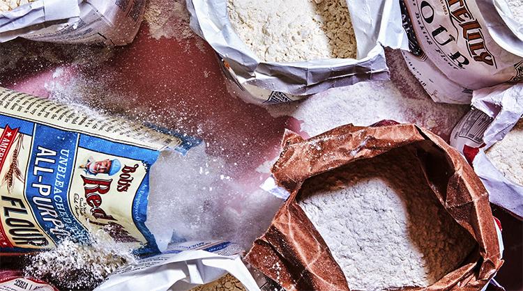 Мука и другие сыпучие продукты