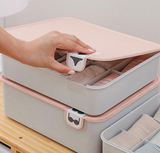 Хранение нижнего белья в органайзере