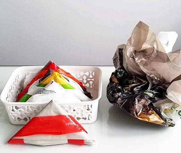 Пакеты в треугольнике