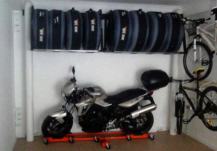 Правильно хранение скутера