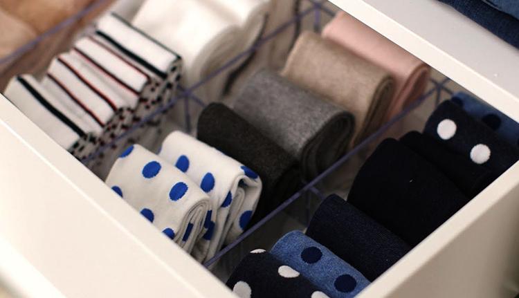 Правильное хранение носков