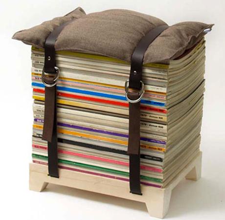 Хранение журналов с ремнем