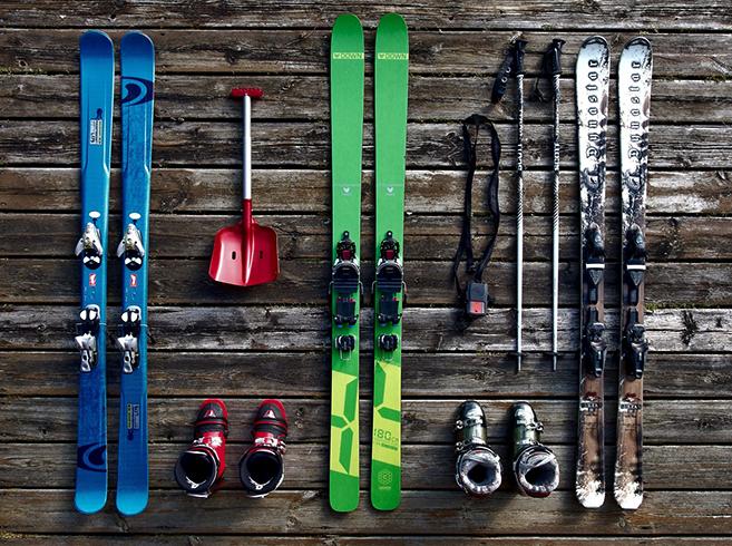 Комплекты лыж