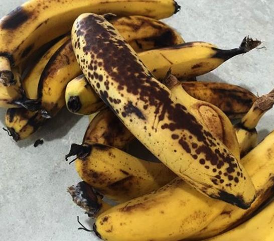 Испорченные бананы