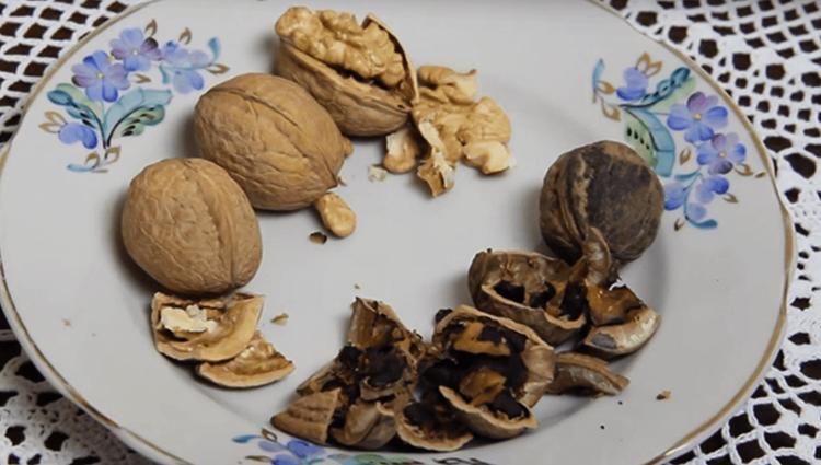 Испорченные орехи