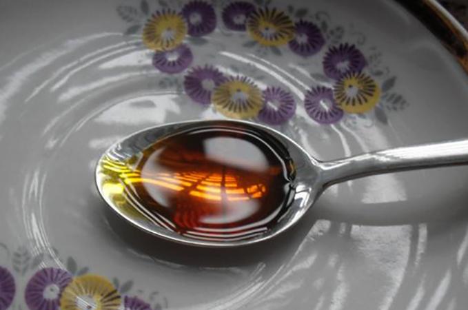 Облепиховое масло в ложке