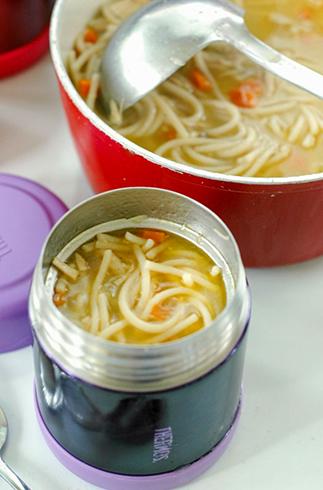 Суп в термосе