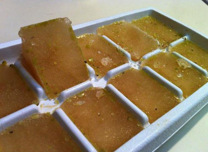 Бульон в кубиках для льда