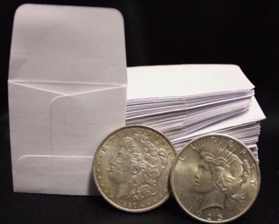 Бумажные конверты для монет