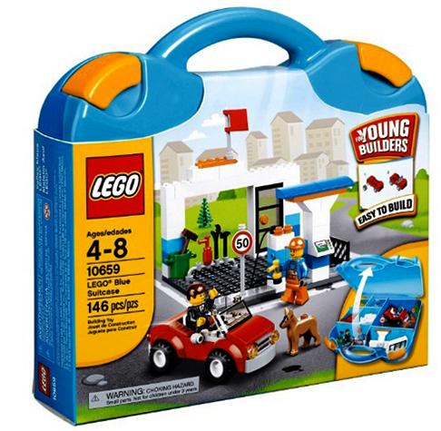 Фирменный чемоданчик Lego