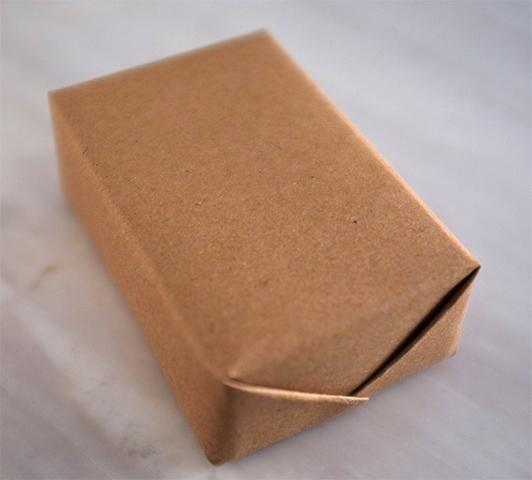 Упакованное мыло ручной работы