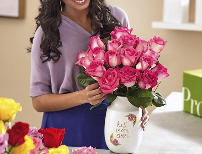 Хранение букета роз