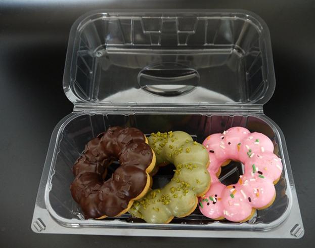 Пончики в контейнере