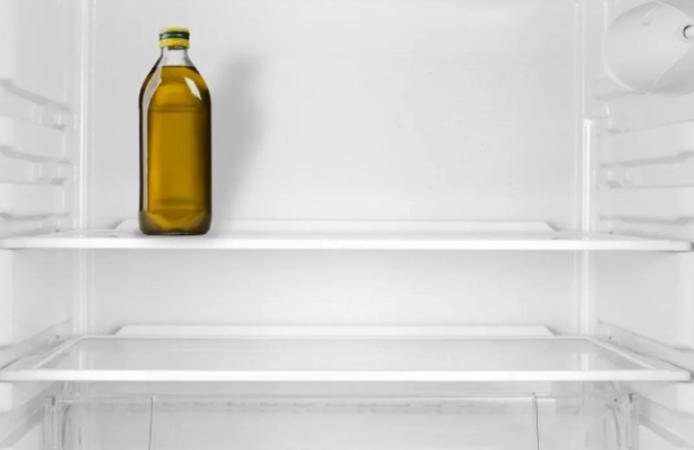 Кунжутное масло в холодильнике