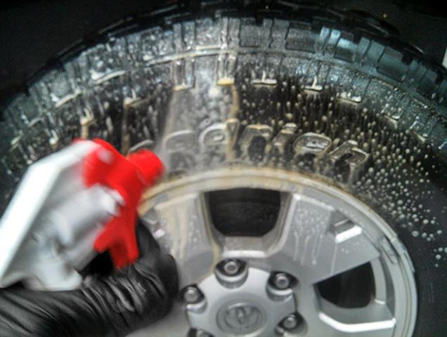 Мытье шин