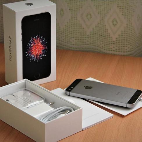 Смартфон и коробка от него