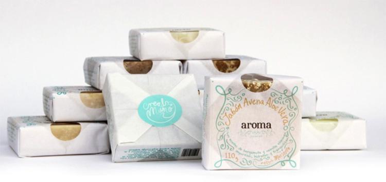 Мыло в упаковках