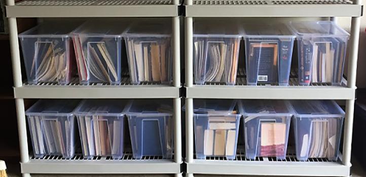 Хранение книг в гараже