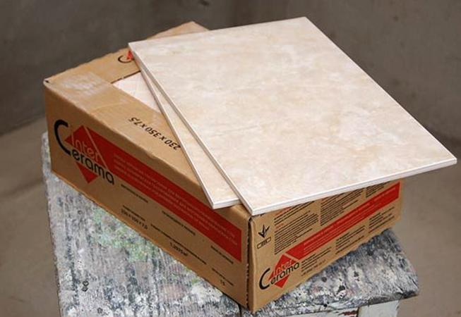 Керамическая плитка перед использованием