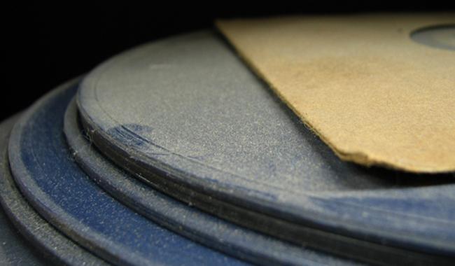 Пыль на виниловых пластинках