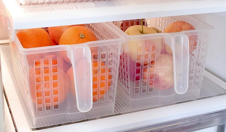 Апельсины в холодильнике