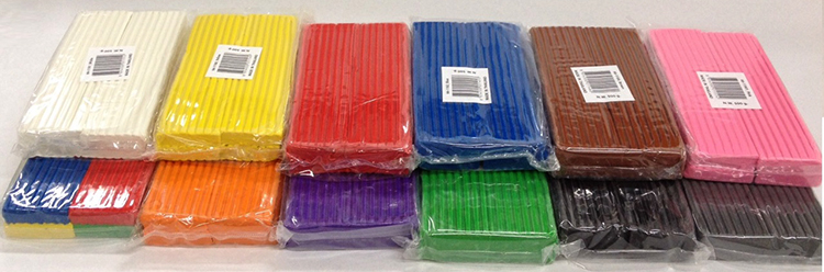 Пластилин в упаковке