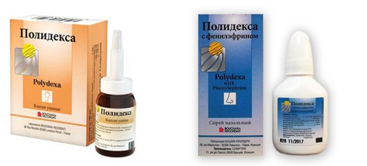 Формы выпуска препарата Полидекса