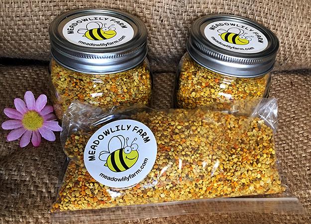 Хранение пчелиной пыльцы в бане и пакетеv