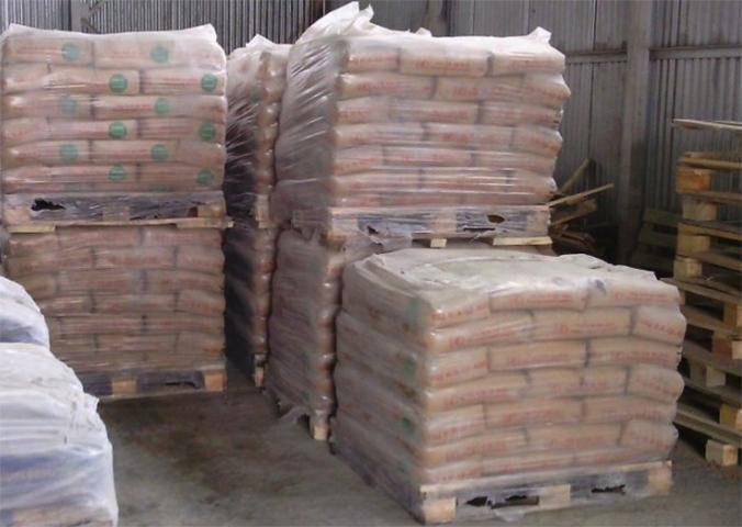 Хранение цемента на складе