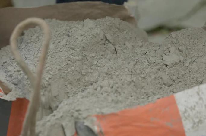 Вскрытый цемент