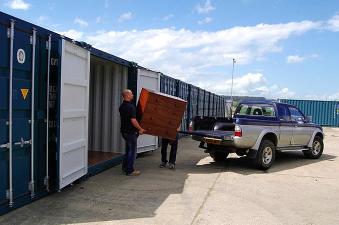 Аренда контейнера для хранения вещей