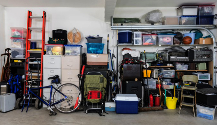 Хранение вещей в гараже