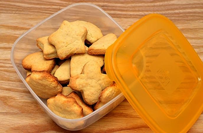 Хранение песочного печенья