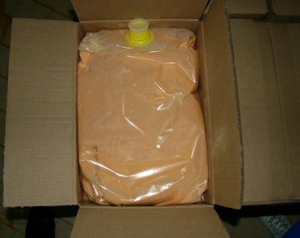 Яичный порошок в картонной упаковке