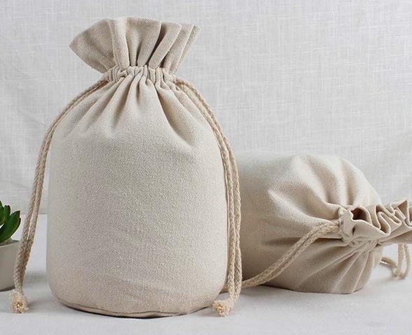 Льняные мешочки с миндальной мукой