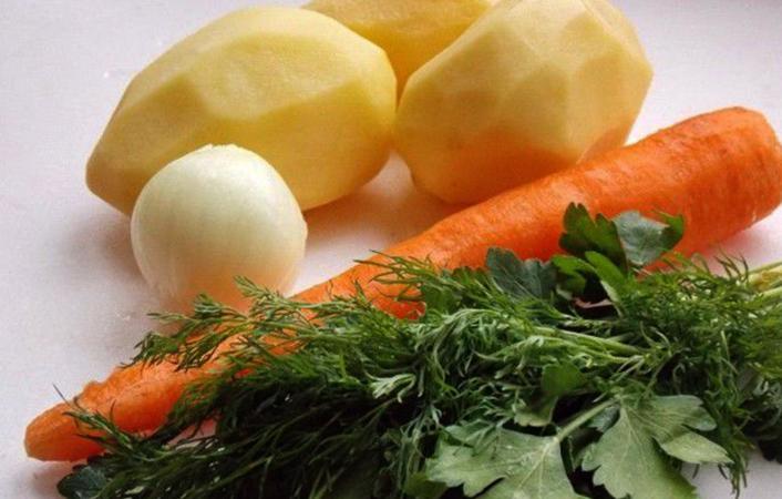 Овощи очищенные