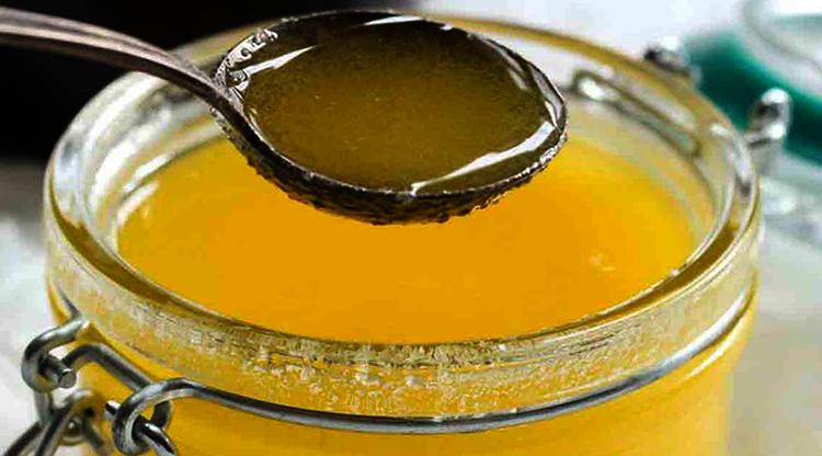 Открытое масло гхи