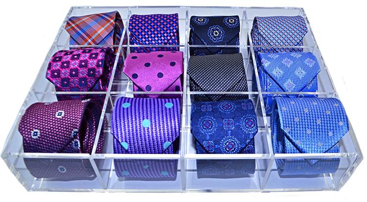 Пластиковый органайзер для галстуков