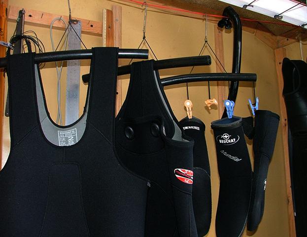 Правильное хранение костюма для подводной охоты