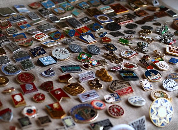 Значки в коллекции